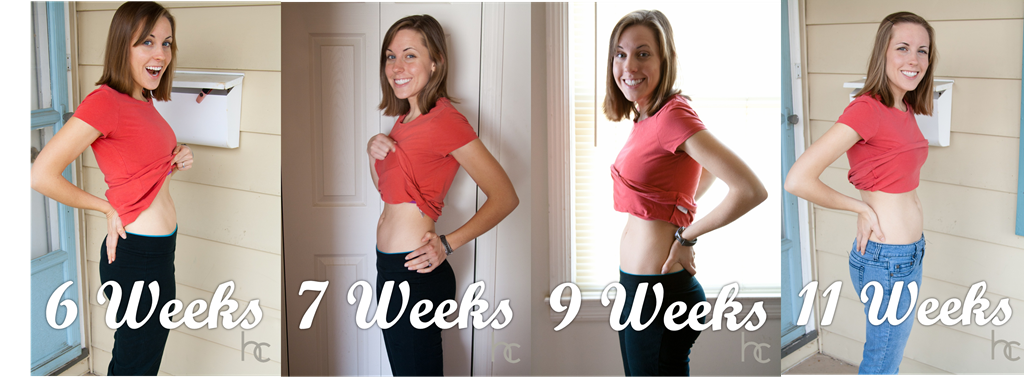 First few weeks of being pregnant