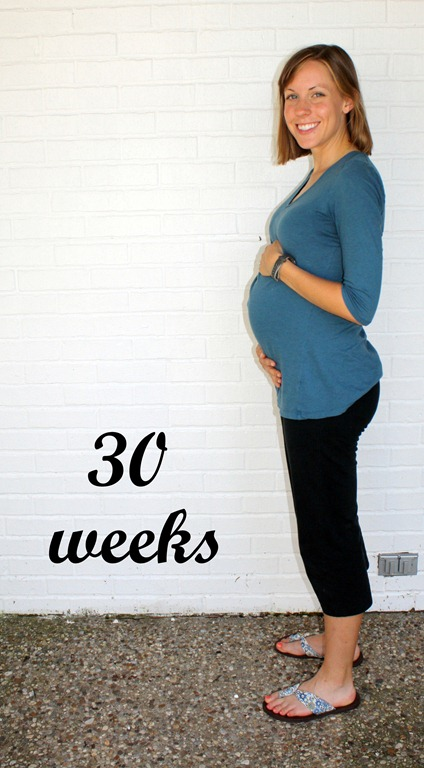 Pregnant Weeks 30 Size
